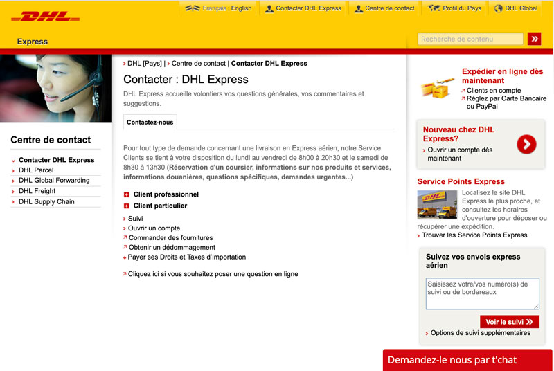 Dhl Customer Service Phone Number >> Chat Online Dhl Dhl Live Chat 2019 08 07
